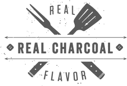 Real Charcoal. Real Flavor.