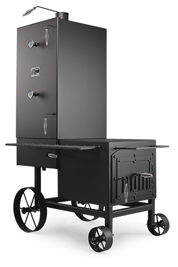 barbecue guide the vertical smoker. Black Bedroom Furniture Sets. Home Design Ideas